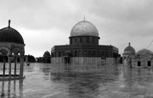Vista de la explanada de las Mezquitas en Jerusalén