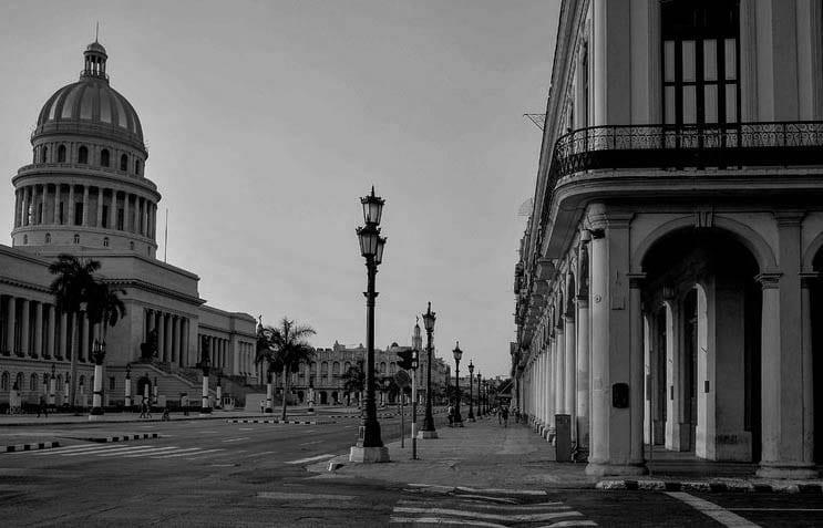 Plaza del Capitolio en La Habana