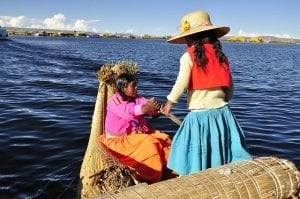 El lago Titicaca es navegable