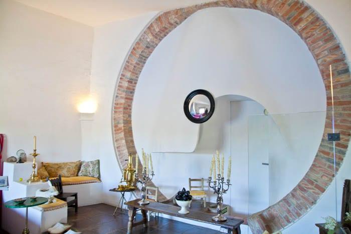 Salón de la casa de Dalí