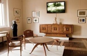 Los muebles de la casa Serralves son también ejemplos de Art Decó