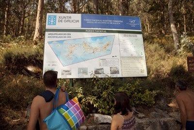 En las Cíes hay muchas rutas para hacer senderismo