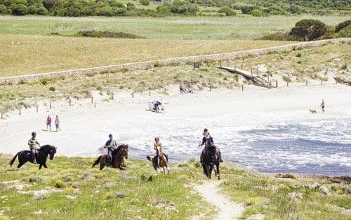 Recorrer Menorca a caballo es una experiencia inolvidable.