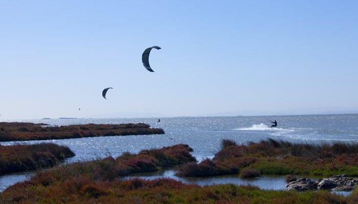 Kite surf en el Delta del Ebro