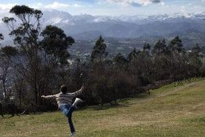 Vistas de Oviedo desde el Naranco