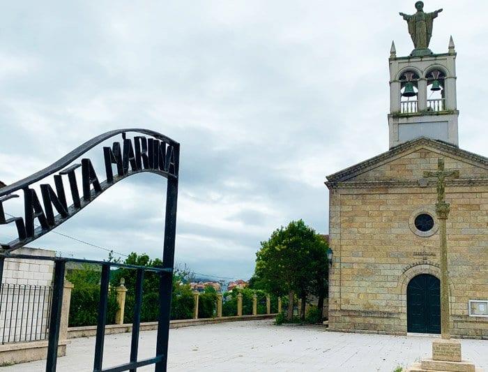 Capilla Virgen Santa Mariña Esteiro