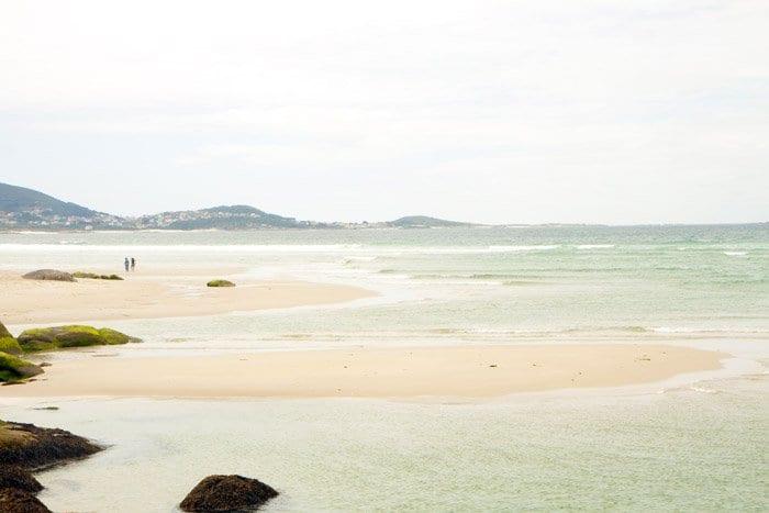 Playa de Carnota en Galicia