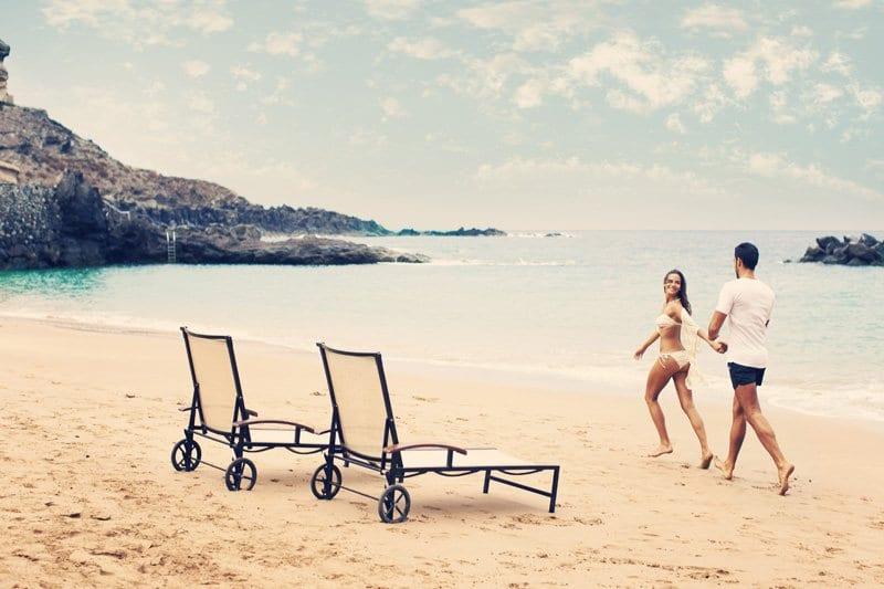 Playas de arena dorada en Tenerife