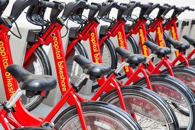 bicicletas de alquiler en Washington
