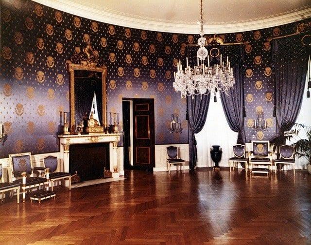 Detalle del interior de la Casa Blanca