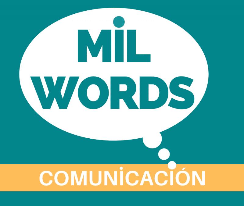 Logo de Mil Words Comunicación