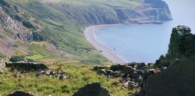 Playa Gales Meinir leyenda