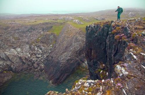 Acantilado irlanda isla Inishbofin