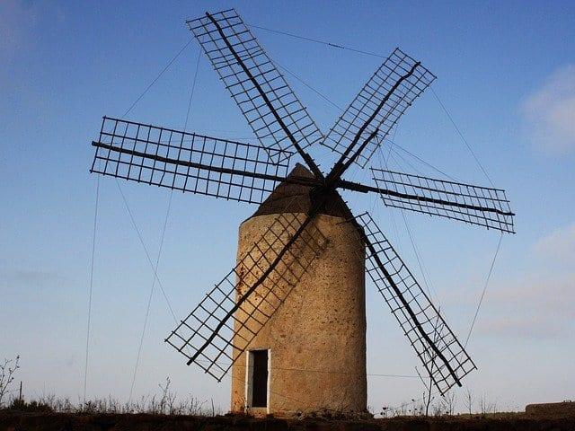 Molino de viento en Formentera