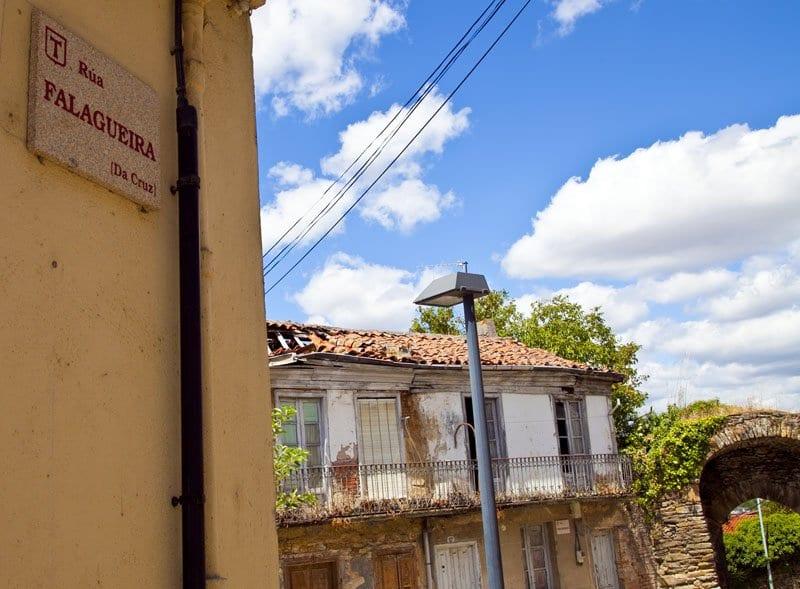 Calle judería Monforte de Lemos
