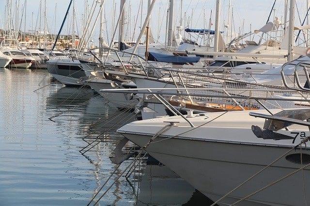 Barcos puerto Costa Blanca Alicante