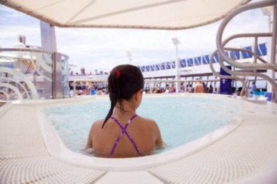 Piscina Jacuzzi Crucero Royal Caribbean