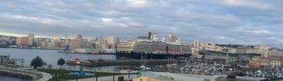 Crucero puerto A Coruña