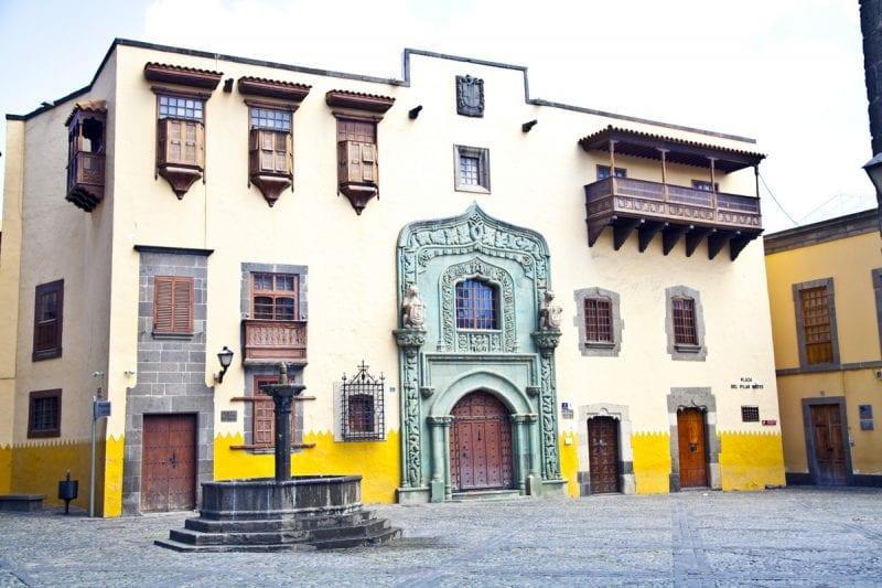 casa museo Cristobal Colon Las Palmas de Gran Canaria