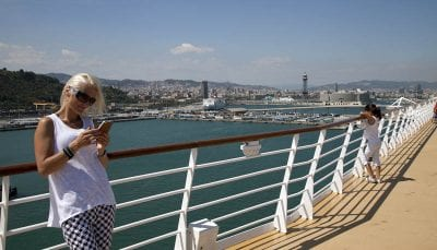 Barcelona crucero Royal Caribbean