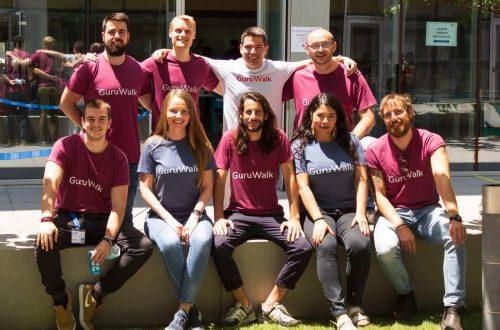 El equipo de Guruwalk