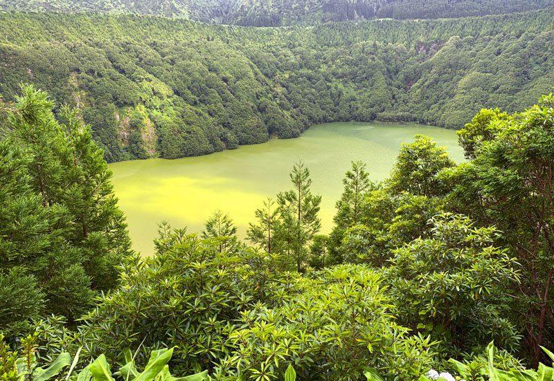 Lago verde San Miguel de Azores