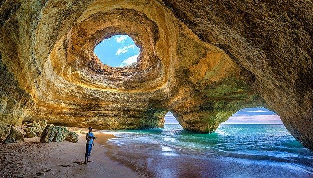 Cueva de Benagil Algarve